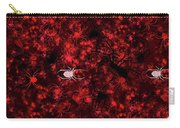 Red Spider Bokeh Pattern Carry-all Pouch