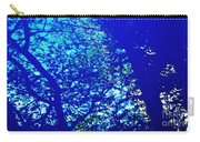 Reflection On A Blue Automobile 3 Carry-all Pouch
