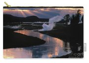 Reflections On The Firehole River Carry-all Pouch
