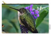 Rescued Ruby-throated Hummingbird Carry-all Pouch
