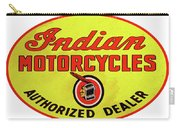 Retro Indian Motorcycles Carry-all Pouch