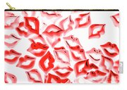 Retro Red Lips Carry-all Pouch