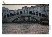 Rialto  Bridge At Sunrise Carry-all Pouch