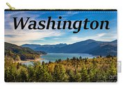 Riffe Lake, Washington Carry-all Pouch