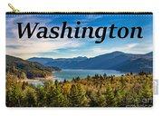 Riffe Lake, Washington Carry-all Pouch