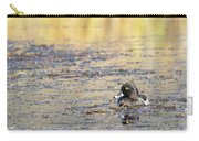 Ring Necked Duck Carry-all Pouch by Michael Chatt