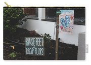Rinse Feet And Drop Flops Carry-all Pouch