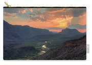 Rio Grande River Sunset Carry-all Pouch