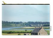 river and bridge towards Berwick upon Tweed scotland Carry-all Pouch