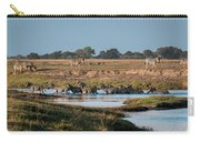 River-crossing Zebras Carry-all Pouch
