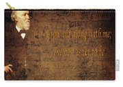 Robert Browning 1 Carry-all Pouch