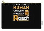 Robot Human Costume Carry-all Pouch