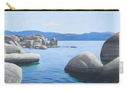 Rocky Cove On Lake Tahoe Carry-all Pouch