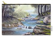 Rocky Stream Carry-all Pouch by Deleas Kilgore