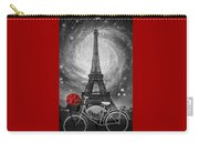 Romance At The Eiffel Tower Carry-all Pouch