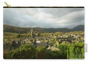 Rooftops Of Ambleside In Early Morning In The Lake District Carry-all Pouch