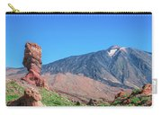 Roque Cinchado In Front Of Mount Teide Carry-all Pouch