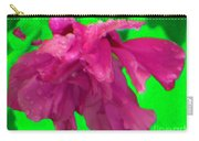 Rose Of Sharon Rain Drops Carry-all Pouch