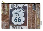 Route 66 - Kansas #1 Carry-all Pouch