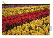 Row After Row After Row Of Tulips Carry-all Pouch
