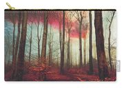 Ruby Red Evening Carry-all Pouch