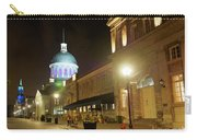 Rue Saint Paul In Old Montreal At Night Carry-all Pouch