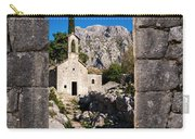 Ruins In Kotor, Montenegro Carry-all Pouch