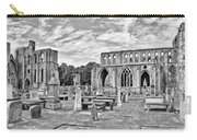 Ruins Of A Cathedral, Elgin Cathedral Carry-all Pouch