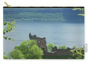 ruins of castle Urquhart on loch Ness Carry-all Pouch