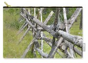 Russel Fence Carry-all Pouch by Ann E Robson