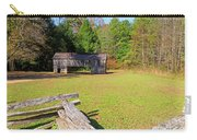 Rustic Double Crib Barn And Split Rail Fence In Cades Cove Carry-all Pouch