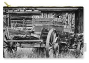 Rustic Horse Drawn Cart Carry-all Pouch
