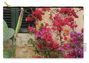 Rustic Life - Flowers Carry-all Pouch