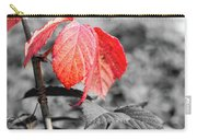 Rusty Leaves Carry-all Pouch