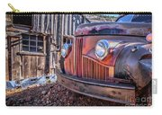 Rusty Old Truck In A Ghost Town In Arizona Carry-all Pouch