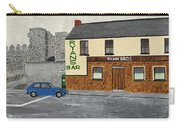 Ryans Pub And Swords Castle Painting Carry-all Pouch