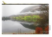 Rydal Water On A Misty Day In December Carry-all Pouch