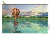 Sailing Away Daydream Steampunk Custom Carry-all Pouch