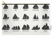 Sailing Vessel Types And Rigs Carry-all Pouch