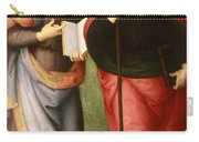Saint John The Evangelist And Saint Augustine Carry-all Pouch