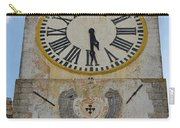 Saint Mary Church Clock Tower In Tavira. Portugal Carry-all Pouch