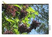 Sambucus Elderberry Sureau Carry-all Pouch