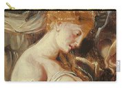 Samson And Delilah, Detail Of Delilah Carry-all Pouch