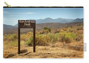 San Andreas Fault Carry-all Pouch