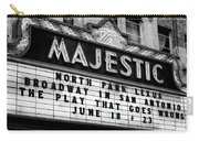 San Antonio Majestic Theatre Carry-all Pouch