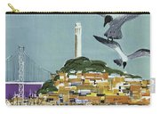 San Francisco American Airlines Carry-all Pouch