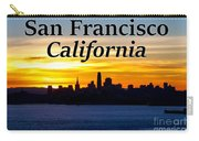 San Francisco Sunrise 2x3 Carry-all Pouch