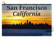 San Francisco Sunrise 2x3 Carry-all Pouch