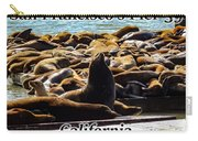 San Francisco's Pier 39 Walruses 1 Carry-all Pouch
