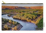 San Juan River At Sunrise Carry-all Pouch